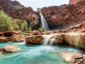 Join Emily Dozer & Curt Woolford for an amazing Yoga Retreat in Havasupai Falls