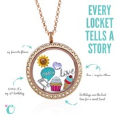 Lockets and charms.