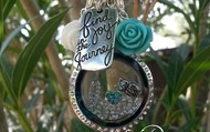 Find Joy in the Journey Tag and the Love CZ Window Plate