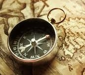 floating needle compass