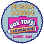 Please save your Box Tops!