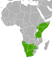 Map of Natural Range