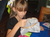 Sewing enhances self-esteem and creativity