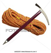 Pickaxe and Rope