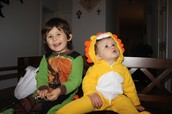 NINJA TURTLE & BABY LION