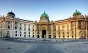 The hofburg palace
