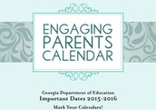 GA DOE Engaging Parents Calendar/Month of February