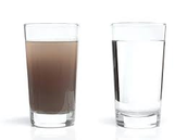 Avoid drinking dirty water.
