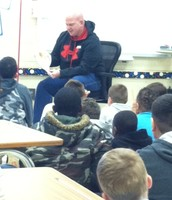 Read Aloud Day with Robert's Dad Mr. Pastor