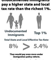 Immigrants pay taxes