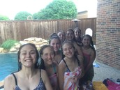a group pic after swimming