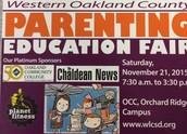 Parenting Fair: Free Vouchers
