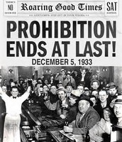 PROHIBITION ALCOHOL