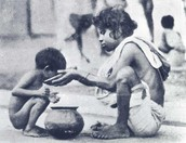 What were the causes and results of the Bengal Famine in 1942?