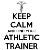 Athletic Trainer speaks by Daniel Barber