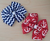 Colorful Hair Bows for Girls