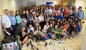 התנדבות בני נוער בכיתה ט' מאנגליה