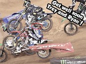 Epic Crash in supercross!