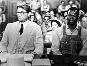 "Atticus Finch defending a ""negro"""