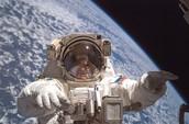 His Astronaut Career Spacewalks Awards