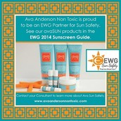 Proud to be a leading (nontoxic) sunscreen!