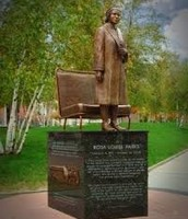 Rosa Parks and her Bus seat