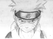 Naruto anime drawling