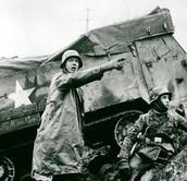 Germans Take American tank