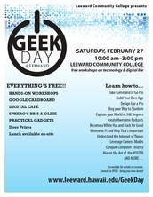 Geek Day @ Leeward