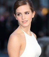 Emma Watson from the movie Harry Potter as Vienna