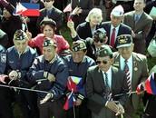 WWII Filipino American veteran