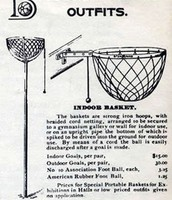 FIRST BASKETBALL HOOP