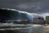 What is a tsunami and what happens?