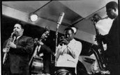 Miles Davis in a band.