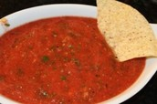 "Smooth ""Restaurant Style"" Salsa"