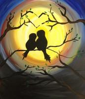 Spooky Love Birds