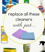 Norwex is just this easy, two cloths and water!