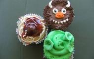 Shrek! Cupcakes