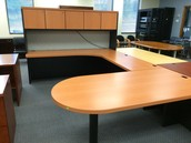 All types and sizes of desks