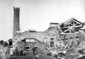 Earthquake damage, Japan, 1891