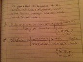 Limited and excess reactants