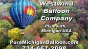 Christmas Gift ~ Pure Michigan ~ Hot Air Balloon Ride