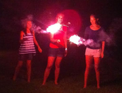 Keally girls showing their sparkle on July 4th!!