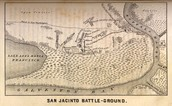 Battle of San Jacinto Map