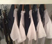 STILL SEARCHING FOR ....ARMS Uniform Closet Make Over