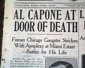 Al Capone nnewspaper.