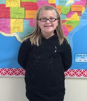 Week 1 Student of the Week Grace Cokely