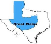 region of texas in which they lived in