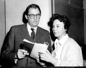 Margaret with Harper Lee