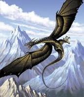 The Lykonopteryx-atrox wyvern